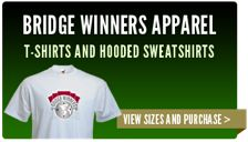Bridge Winners clothing